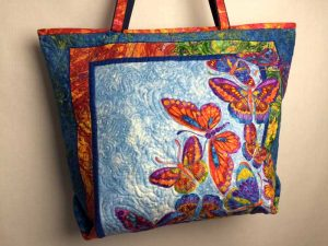 Quilted Butterfly bag