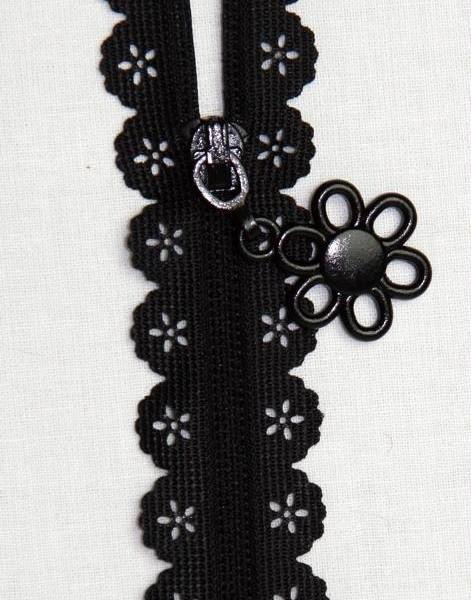 Scallop Lace Tape Zipper
