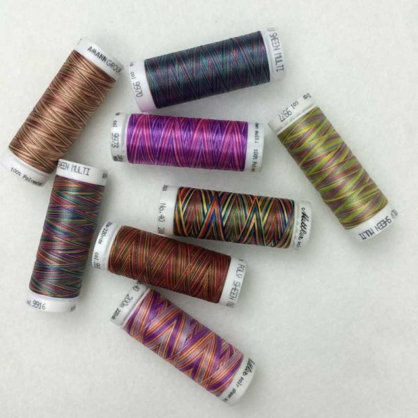 Mettler Multi-Collection of 8 spools of thread