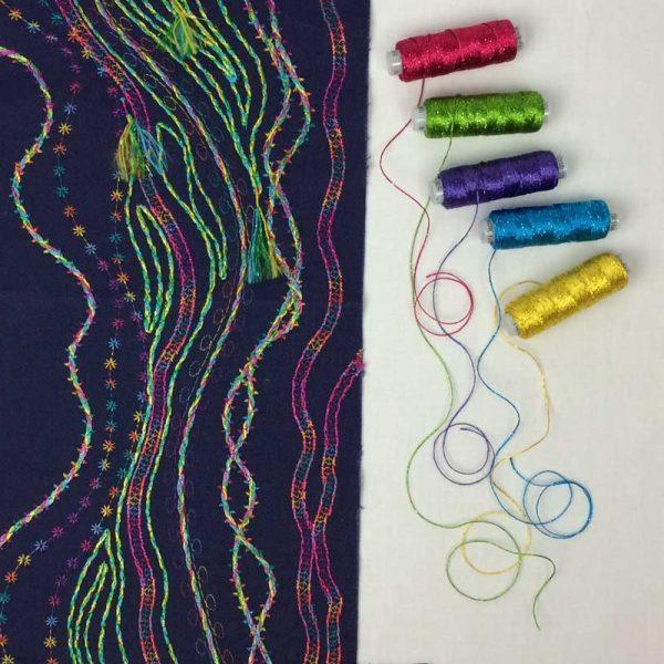 Couching thread