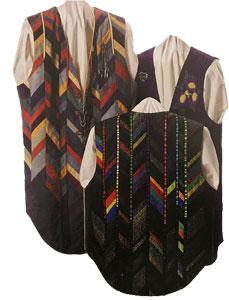 Shirt Tail Vest #595