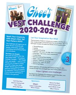 Ghee's Vest Challenge